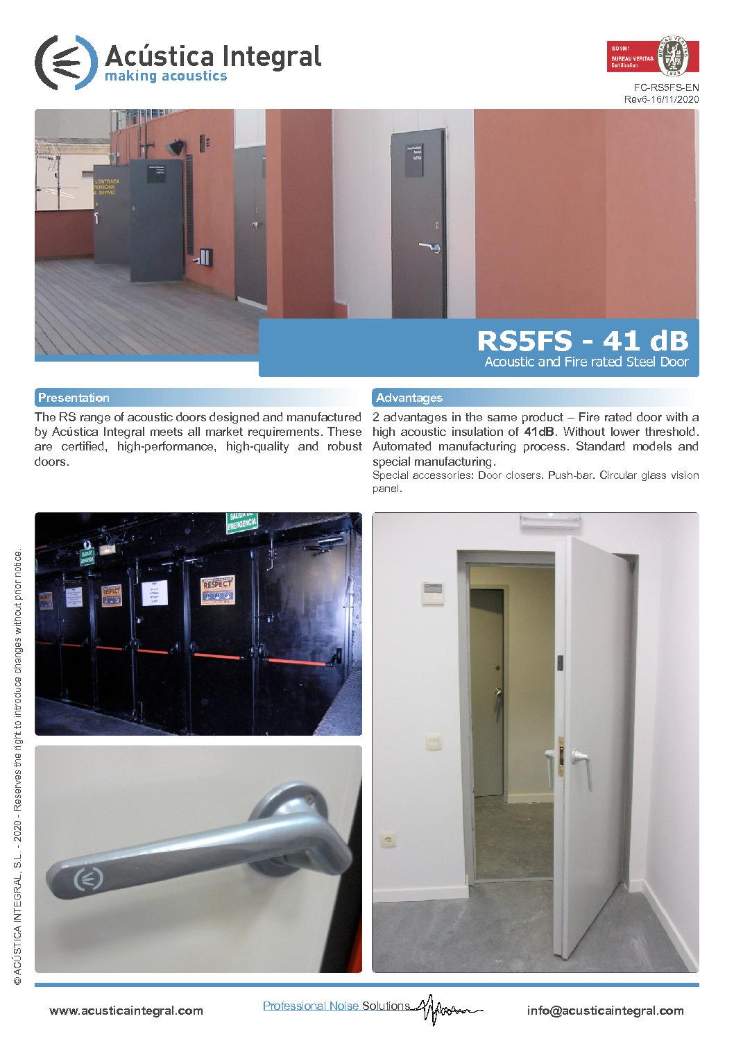 RS5FS – 41 dB