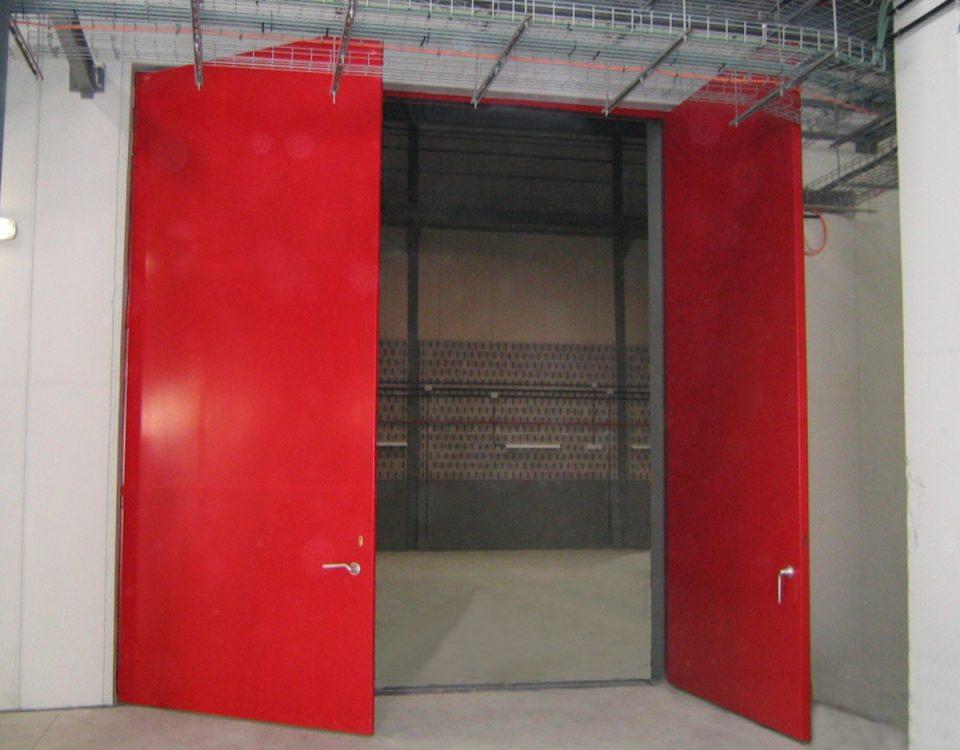 [es:puerta acustica cortafuegos de grandes dimensiones - RS5F-XL - 35 a 46 dB][en:Large fireproof acoustic door - RS5F-XL - 35 to 46 dB][fr:Porte coupe-feu acoustique large - RS5F-XL - 35 à 46 dB][de:Tür acoustic Firewall large - RS5F-XL - 35 bis 46 dB]