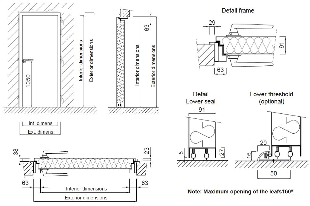 [es:puerta acustica RS-PRO 52dB][en:RS-PRO 52dB acoustic door][fr:Porte acoustique RS-PRO 52dB][de:Schallschutztür RS-PRO 52dB]